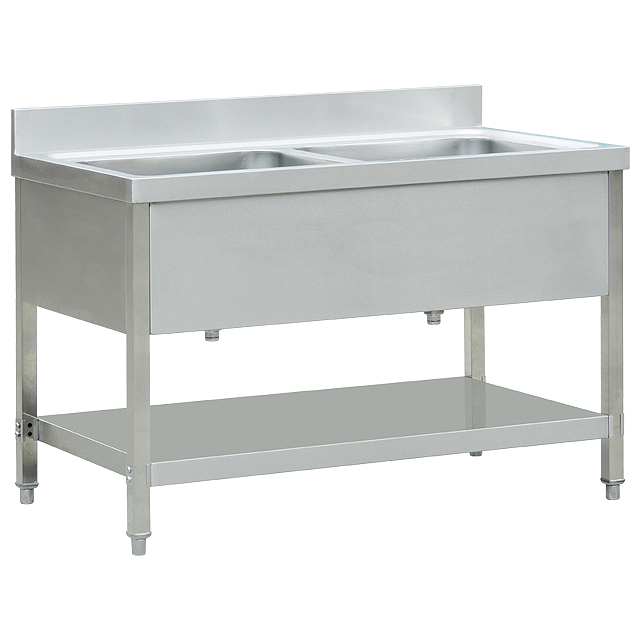 Jual Sink Stainless Double Bowl with cover