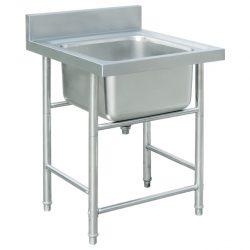 Jual kitchen Sink Stainless Single Bowl