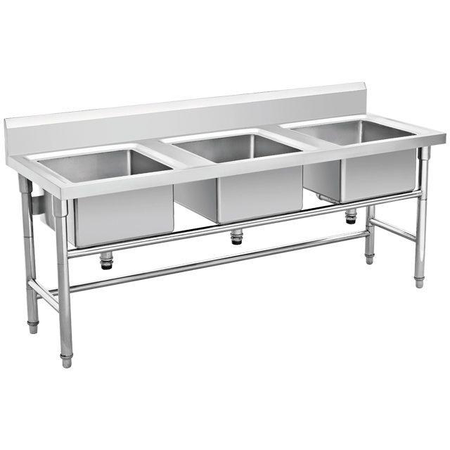 Jual Kitchen Sink Stainless Triple Bowl