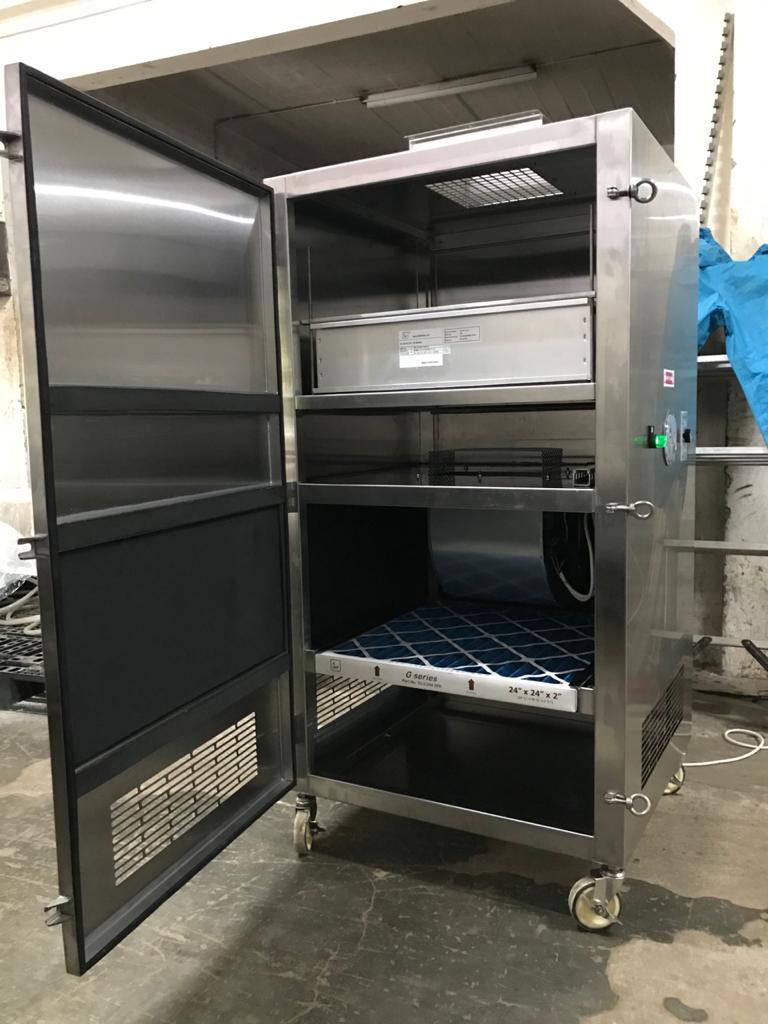 Lemari Hepa Filter Portabel for isolation room